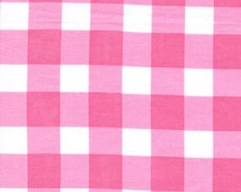 Michael Miller Jumbo Gypsy Gingham in Pink