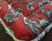 quilted FLEECE pet Mat Dog Cat Crate Bed Mat Pad PROFITS Benefit Animal Rescue Group