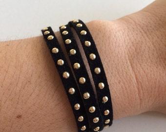 Wrap Bracelet Black
