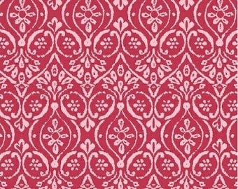 Windham Fabrics Two By Two 33576-5 Red Damask Yardage
