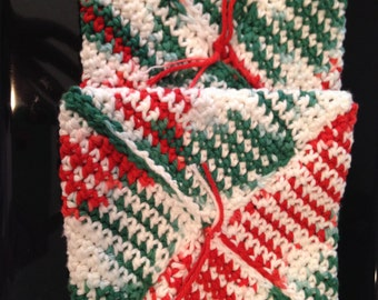 Hot pad / potholder pattern - double thickness