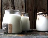 Wooden Wick Soy Candle in Glass Apothecary Jar: 12 Ounces or 3.5 Ounce Fragrance & Unscented