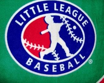 SALE Little League Baseball Fleece Throw