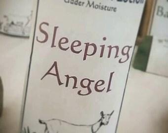 Goat Milk Lotion, Sleeping Angel, Homemade Lotion