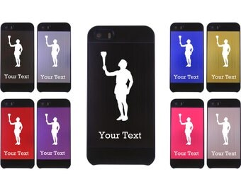 Personalized Olympic torch Aluminum Case for iPhone 4/4s or iPhone 5/5s