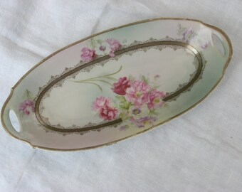Bavarian China Dish - Antique