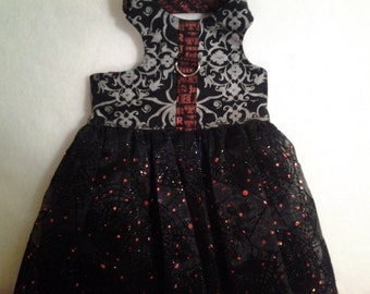 Large Halloween Vest Harness Dress