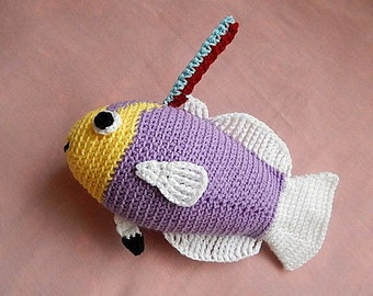 Amigurumi Crochet Pattern - Helfrich Firefish  Pattern No.27