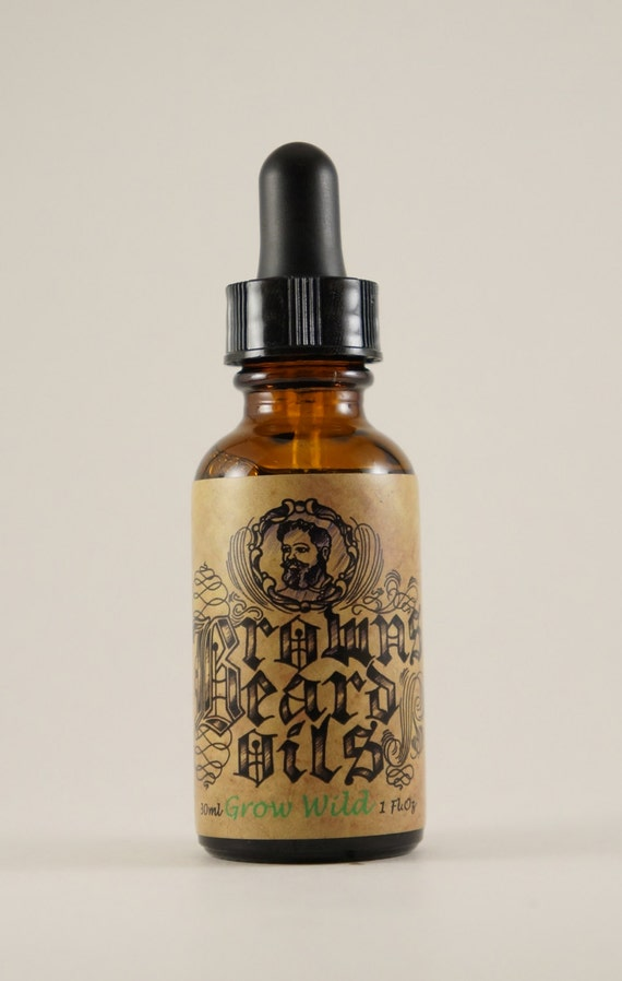 Grow Wild Beard Oil 1oz All Natural Masterfully Crafted In