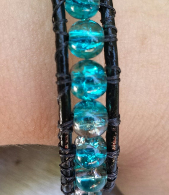 Leather Wrap Bracelet from Krafty Shop