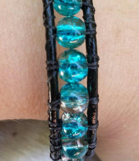 Leather Wrap Bracelet from Krafty Shop