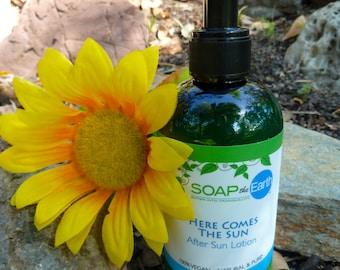 Healing After Sun Lotion Organic Vegan