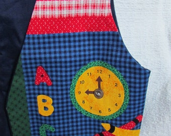 Back-to-school children's vest - size 10 - medium
