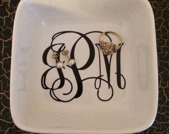 Personalized Jewelry Holder/Trinket Tray