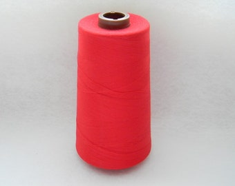 Red-100% Polyester Sewing Thread 6,000 yards