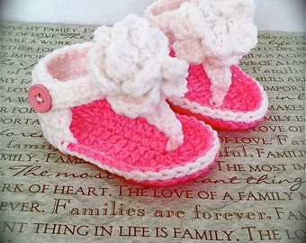 Adorable Baby Infant Gladiator Crochet PDF Pattern!  Sizes 0-6, 6-12 Months
