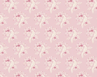 TILDA - Bird Pink - The Summer Fair - 1/2 yard