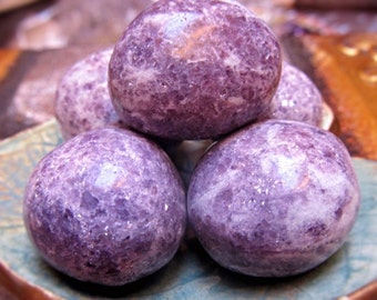 Lepidolite Healing Stone, Reiki Healing, Vibrational Energy Crystals, Loving Energy, Self Love, Self Acceptance
