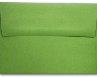 Gumdrop Green A-7 Envelopes 25 pack