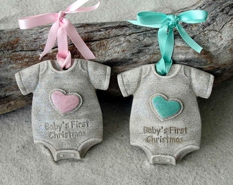 BABY'S FIRST CHRISTMAS Sand Ornament