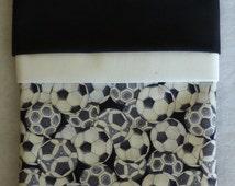 "Pillowcase Kit - Sports Soccer Theme, Complete Kit, Make Your Own, Standard Size 20"" x 30"""