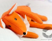 Stuffed toy animal - Fox - Animal doll Fox