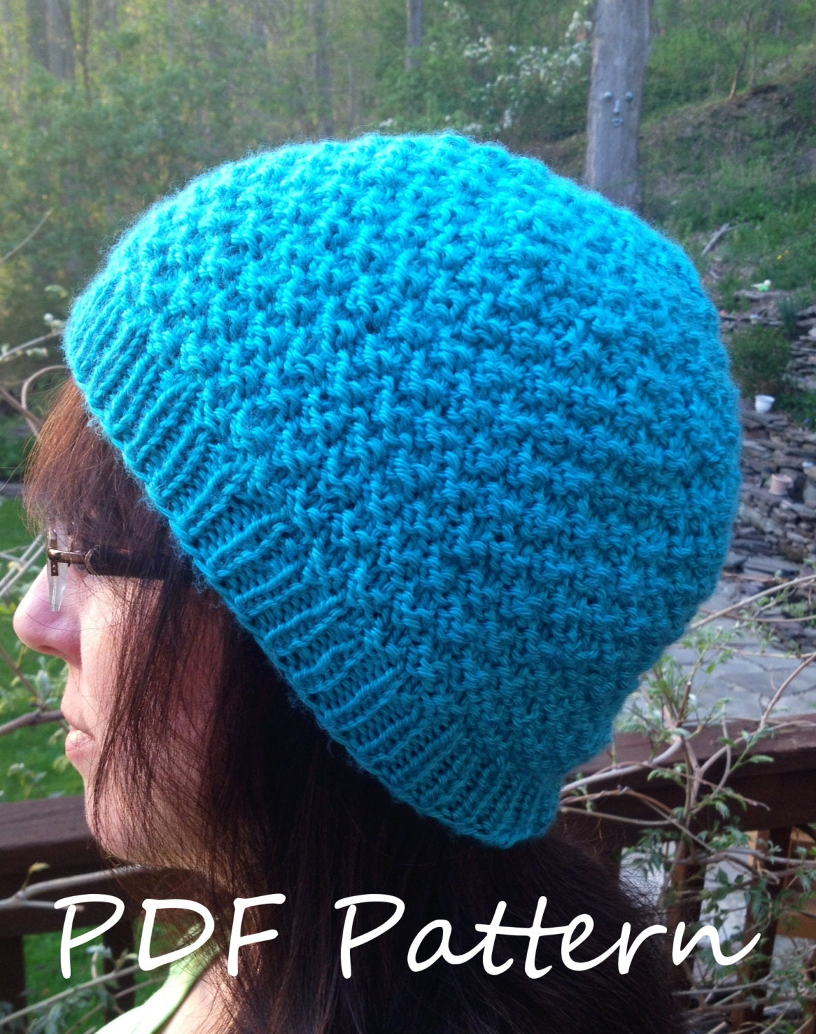 Double Seed Stitch Knitting In The Round : Pdf knitting pattern double seed stitch knit by lawsofknitting