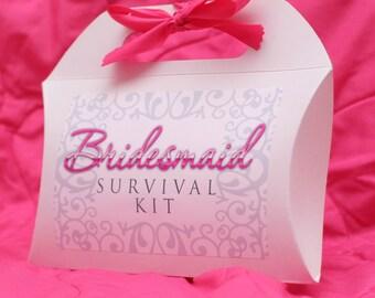 DIY Bridesmaid & Maid of Honor Survival Emergency Kit Gift
