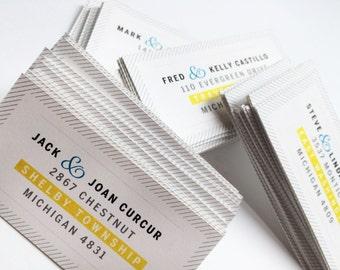 50 Modern Custom Mailing Labels