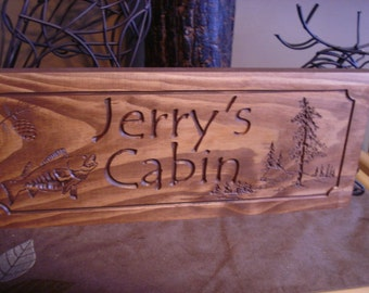 Personalized wood Signs, Cabin Signs, camp sign,  Cabin decor, Custom Wood Sign, Wood carved Sign, Personalized Camping Sign, Christmas Gift