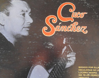 Cuco Sanchez-self-titled-1973 vinyl record