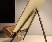 Book and iPad stand