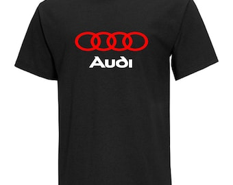Audi Men's Black T-Shirt