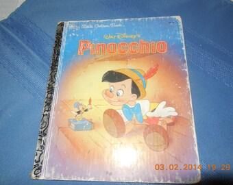 Walt Disney's Pinocchio a Little Golden Book.