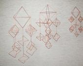 Himmeli Figure 3 || The Cascading Diamonds