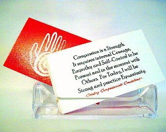 Just for Today Compassion Mantra Cards