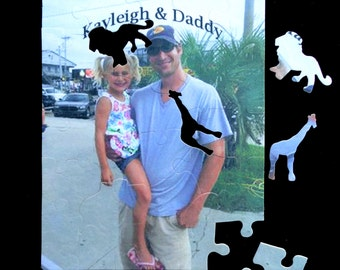 "Personalized PHOTO Puzzle L@@K *ZOO* Puzzle Pieces - Custom Puzzle 7 1/2"" x 9 1/2"" Great Gift!!!! One -of-a-kind"