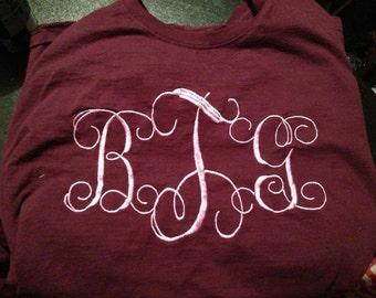 Mongrammed T-shirt