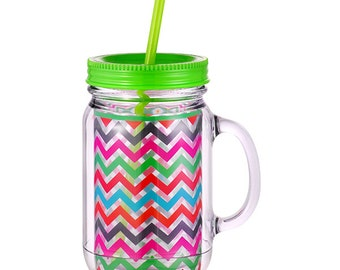 Personalized  Multi Color Tumbler & Tote Bag - ON SALE!