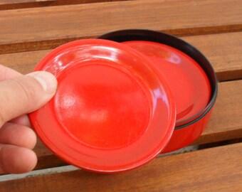 Laurids Lonborg - 6 orange coasters in a box