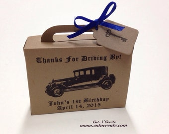 Cars Favor Box Cars Birthday Favor Cars Suitcase Favor Box Kids Birthday Party Favors 1st Birthday Boy Cars Birthday Decorations