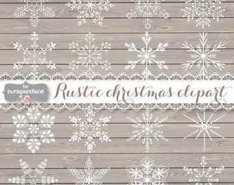 Rustic Christmas, Clipart snowflakes cliparts, snowflakes christmas, winter clipart, snowflakes black cliparts