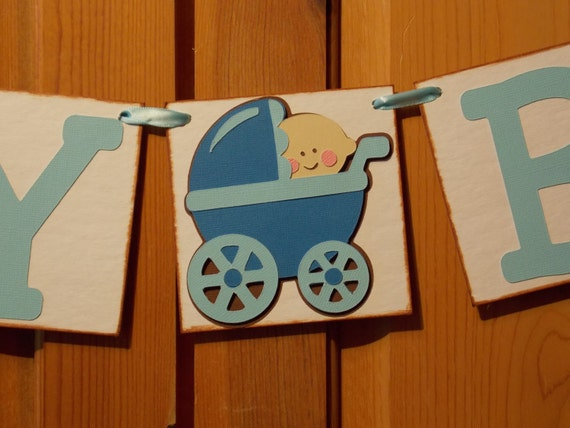 Items similar to baby boy banner 1a baby boy newborn for Welcome baby home decorations