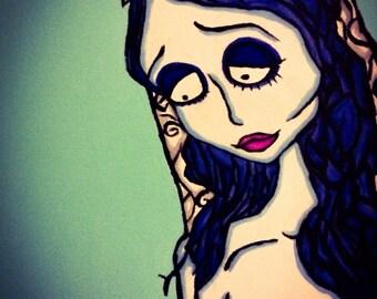 Pop Art Emily ( Corpse Bride )