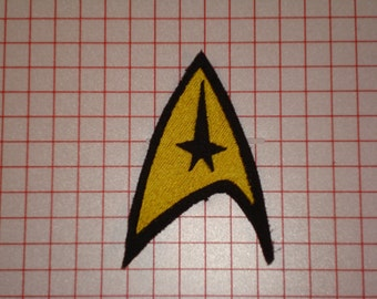 Star Trek Commander Embroidered Iron On Patch