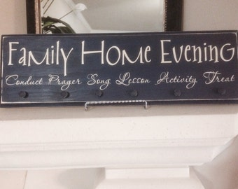 FHE (Family Home Evening) Board