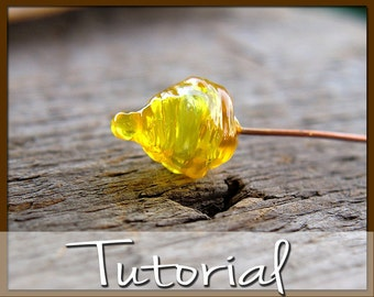 Polymer Clay Hollow Pod Headpin Tutorial, How to Make Faux Glass Hollow Pod Headpins