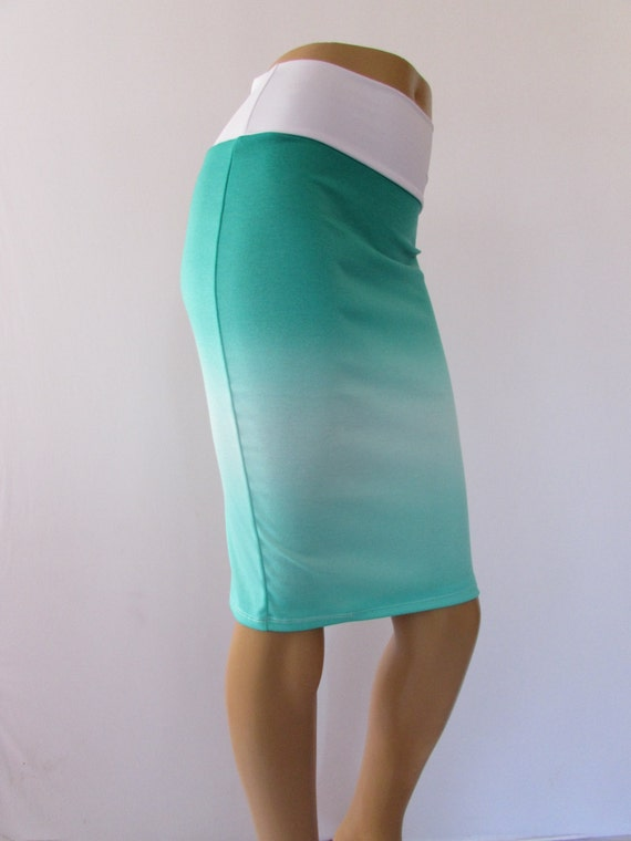 items similar to sale pencil skirt bodycon stretch ponte