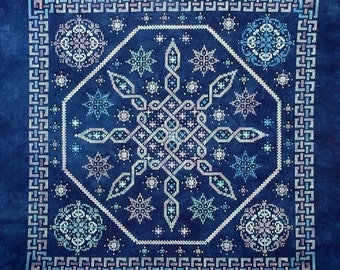 Celtic Snow PDF Chart by Northern Expressions Needlework