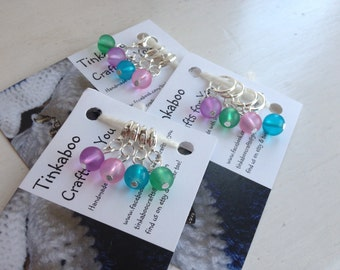 Knitting or Crochet stitch markers